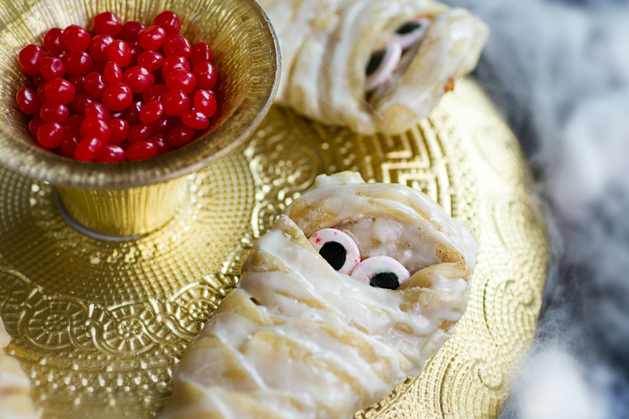 Apple Strudel Mummies