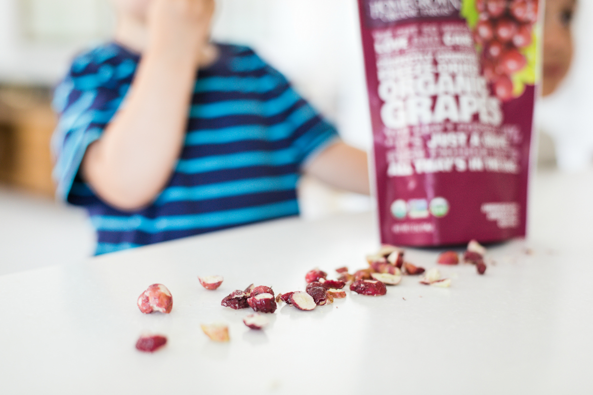 Bring Back the Fruit Snack with Freeze-Dried Grapes