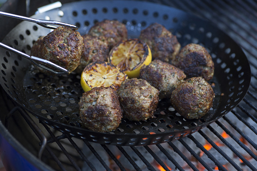 Lemon Caper BBQ Meatballs | Recipes for Fall